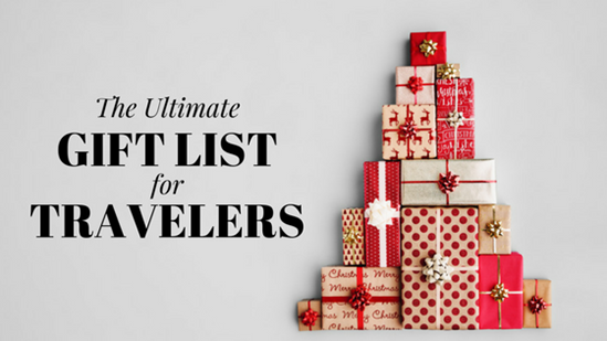 Travel blog global travel plus for Christmas gifts for travelers